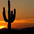 Arizona Sunset 3 by Bob Christopher