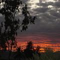 Arizona Sunset II by Lessandra Grimley