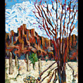 Arizona Trees In Blossom by Roger Couture