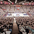 Arizona Wildcats White Out At Mckale Center by Replay Photos