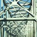 Arkansas Side Of Helena Bridge 1 by Tamra Lockard
