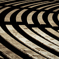 Arlington Cemetery Amphitheater Benches by Stuart Litoff