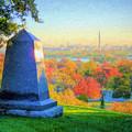 Arlington Cemetery Sunrise by JC Findley
