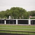 Arlington Park Race Track by David Bearden