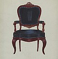 Armchair by Edward A. Darby