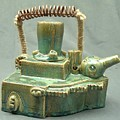 Armoured Teapot  by Donald Burroughs