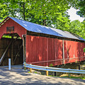 Armstrong/clio Covered Bridge by Jack R Perry