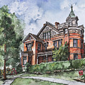Armstrong Mansion by Shelley Wallace Ylst