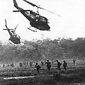 Army Airborne In Vietnam by Underwood Archives
