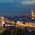 Arno River At Night by Adam Rainoff