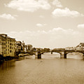 Arno River Florence by Marilyn Hunt