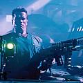 Arnold Schwarzenegger Firing Dual Em-1 Railguns Eraser 1996 by David Lee Guss