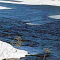 Aroostook River Below The Dam by William Tasker
