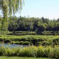 Aroostook River Landscape by William Tasker