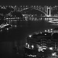 Arrabida Bridge By Night by Borys Szefczyk
