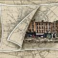 Arran Quay Dublin Map by Sharon Popek