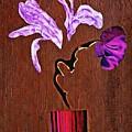Arrangement In Purple by Sarah Loft