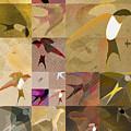 Arraygraphy - Birdies Sepia, Part 1 by Arthur Babiarz