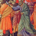 Arrest Of Christ 1311 by Duccio