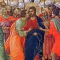 Arrest Of Christ Fragment 1311 by Duccio