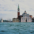 Arriving In Venice by Laura Birr Brown