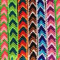 Arrow Pattern Woven Bracelets by Robert Hamm
