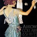 Arrow Shirt Collar Ad, 1923 by Granger