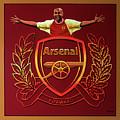 Arsenal London Painting by Paul Meijering