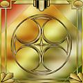 Art Deco Brass 3 by Chuck Staley