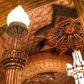 Art Deco Ceiling by Jenny Revitz Soper