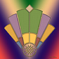 Art Deco Fan 2 by Chuck Staley