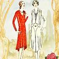 Art Deco Fashion Girls by Joy of Life Art Deco Gallery