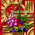 Art Deco Floral by Chuck Staley