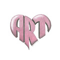 Art Heart by Dominic White