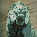 Art Institute Of Chicago Lion by Jemmy Archer
