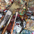 Art Is Messy 5 by Carol Leigh