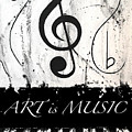 Art Is Music-music In Motion by Wayne Cantrell
