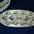 Art Nouveau Hair Barrette Sterling Silver by Melany Sarafis