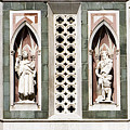Art On Duomo In Florence Italy by Marilyn Hunt