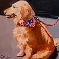 Art Show Dog 2 by Carol  Nelson