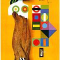 Art Today - London Underground, London Metro - Retro Travel Poster - Vintage Poster by Studio Grafiikka