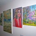 Art Wall by Patricia Taylor