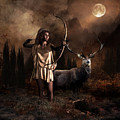 Artemis Goddess Of The Hunt by Shanina Conway