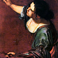 Artemisia Gentileschi by Granger