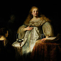 Artemisia by Rembrandt