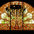 Artful Stained Glass Window Union Station Hotel Nashville by Susanne Van Hulst
