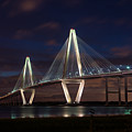 Arthur Ravenel At Night by Jennifer White