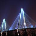 Arthur Ravenel Bridge by Corky Willis Atlanta Photography