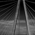 Arthur Ravenel Jr Bridge by DigiArt Diaries by Vicky B Fuller