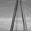 Arthur Ravenel Jr Bridge II by DigiArt Diaries by Vicky B Fuller
